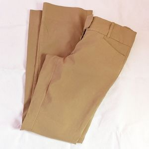 The Limited extra stretch 10r pants tan